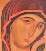 Our Lady of the Passion  - Virgin�s face