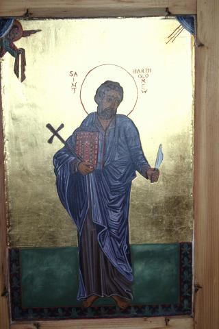 Icon of St Bartholomew