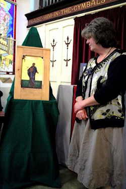 Karen and Icon of St Bartholomew